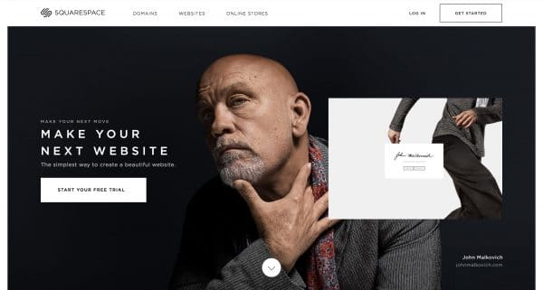Website - Squarespace